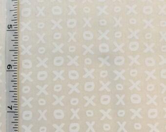 Whispers Muslin Mates by Moda Fabrics X and O