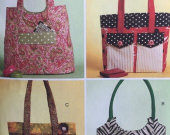 Butterick 5367 Tote, Purse Sewing Pattern