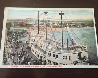 Vintage Venice California Post Card