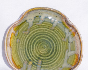 An Irish Green, Stoneware Plate