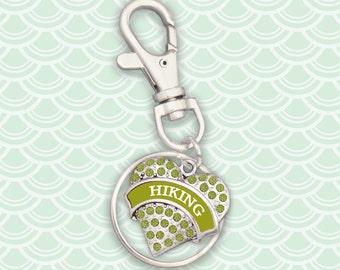 Hiking Keychain Zipper Pull - 54686