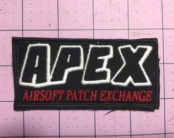 APEX Group limited edtion ( Airsoft Patch EXchange) group patch