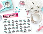 "MCM MANTRAS: ""Make Today Ridiculously Amazing"" Paper Planner Stickers!"