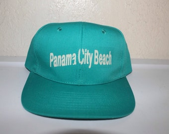 Vintage 90's Panama City Beach Snapback by Nissun