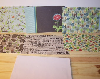 Nature-Inspired Cards - Set of 6
