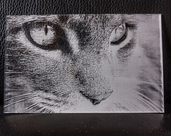 Photo engraving on Acrylic