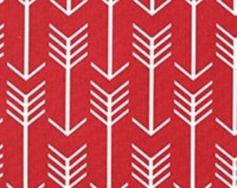 "SALE:  52"" x 16"" Window Valance valances PREMIER unlined RED arrow  for kitchen. Bedroom, nursery, living room, bathroom"