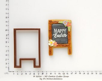 Standing Chalkboard Cookie Cutter
