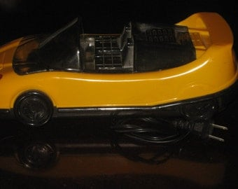 Vintage VHS Rewinder in the Shape of a Car!