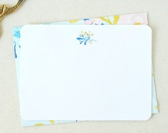 Blank Thank You Cards. Blank Card Floral. Stationary Set. Blank Bridesmaid Cards. Thank You Cards Set. Bridal Shower Thank You Cards.