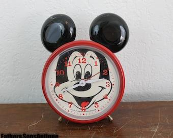 Bradley Mickey mouse Steel clock!