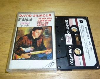 David Gilmour SINGAPORE pressing CASSETTE pink floyd