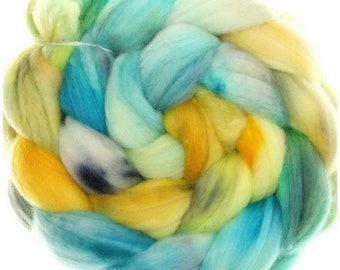 Merino Nylon No. 57  handyed combed top roving for spinning #15484