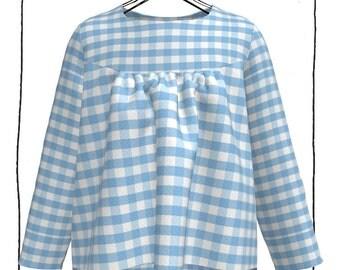 Girl's shirt - sewing pattern (PDF)