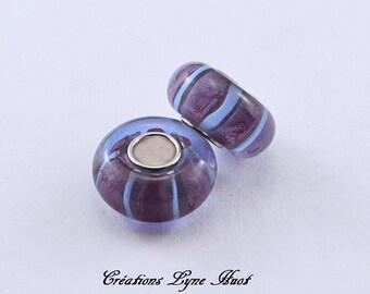 A choice 1, 3 or 5 Murano glass beads charm European style !