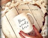 Custom Mug, Personalized ...
