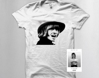 Brian Jones t shirt as worn by David Bowie