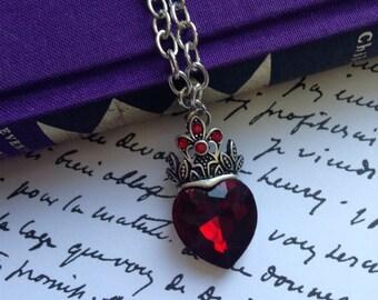 Evie Heart Necklace / Descendants / Descendants 2 / Crystal