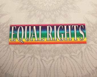 Equal Rights Outdoor Magnet