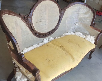 Antique Sofa Before Frame-Customize to exactly what you want