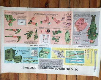 1960's Military Training Poster