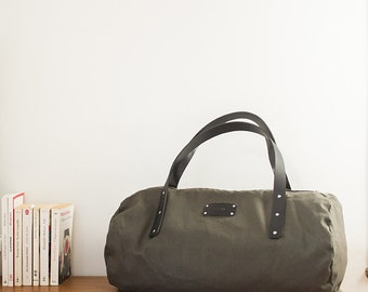 Sports bag LUNA - green and black