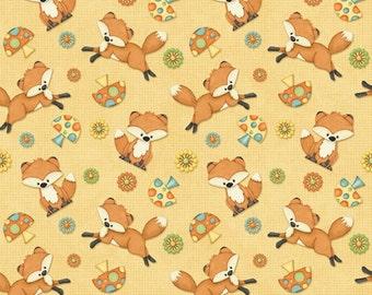 Hoot Hoot Hurray Fabric  6506