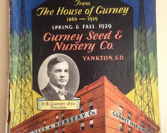 Gurney Seed Catalog 1929 Spring and Fall