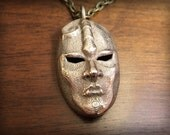 JoJo's Bizarre Adventure Stone Mask Stainless Steel 3D Printed Pendant Keychain