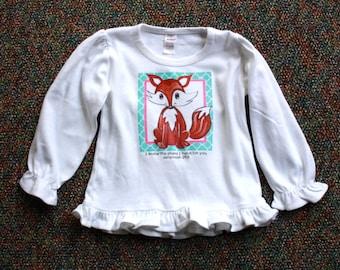 Fox Girls long sleeve shirt