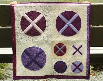 X Marks the Spot PDF Mini Quilt Pattern