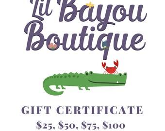 Printable Gift Certificate - Digital Gift Certificate - Printable Gift Card - Digital Gift Card - Gift Certificate - Gift Card