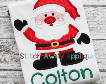 Santa bodysuit or toddler shirt