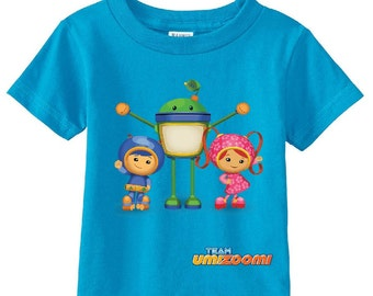 Team Umizoomi custom t-shirt (Colors)