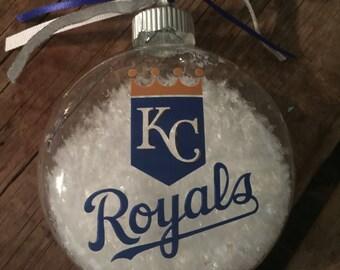 Kc royals ornament   Etsy