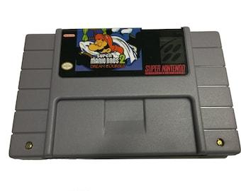Super Mario Bros 2: Dream Courses for the Super Nintendo! SNES - Platformer - Luigi - Bowser - Princess Peach - Great Gamer Gift!