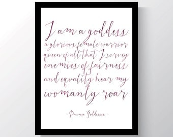 INSTANT DOWNLOAD - Leslie Knope - Pawnee Goddess - Parks and Recreation - 8x10 photo print - Cheap home decor  - quote photo