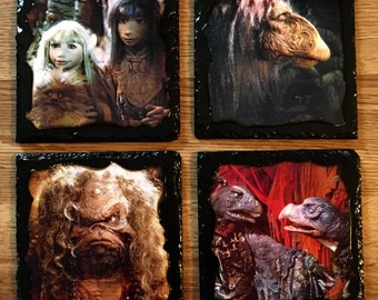 Dark Crystal slate coaster set