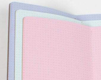 DOTS Midori inserts Traveler's notebook insert