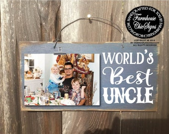 gift for uncle, uncle gift, uncle, world's best uncle, uncle picture frame, Christmas gift for uncle, birthday gift for uncle, 39