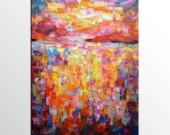 Abstract Oil Painting, Canvas Wall Art, Canvas Art, Large Art, Abstract Wall Art, Original Art, Contemporary Art, Modern Painting, Wall Art