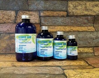 GLYCOLIC ACID Chemical Skin Peel Medical Grade 10-70% 1-8oz Acne,Scars,Wrinkles