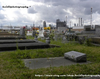 Death and Industry * Industrial Art * Photographic Art * Louisiana  * Cemetery Art *