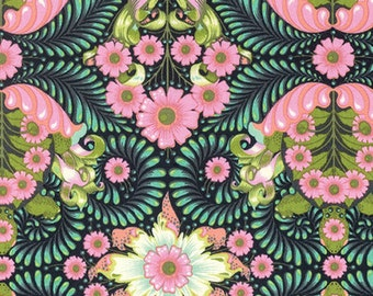Tula Pink - Slow and Steady The Tortoise Strawberry (Half metre)