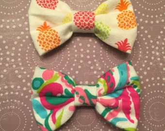 Summer Splash Hair Bow Set