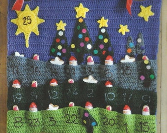 PDF Advent Calendar Crochet Pattern Only