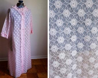 Medium for Petites - Pink Lace Robe