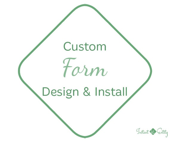 Custom Website Form Design and Install | Questionnaire | Survey | Feedback | Poll | Application