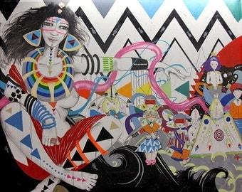 Paris Street Art (12x14)