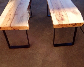 Rustic Reclaimed Wood Bench/Coffee table